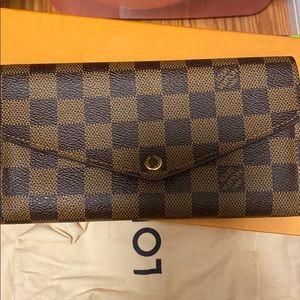 Louis vuitton Long sarah wallet